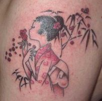 Cherry Blossom Tattoo by buzz-n-sara