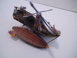 Papercraft Airship L.Z. 400 2 by divinewindnsew