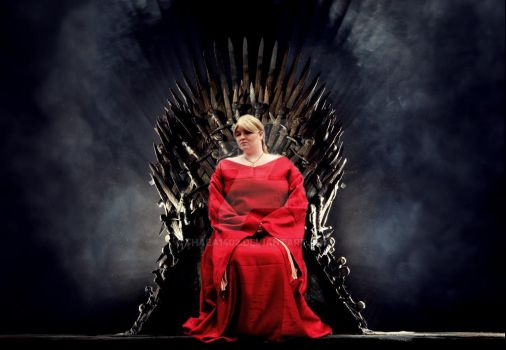 Cersei  Lannister Iron Throne by Thaea1402