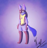Lucario practice 2 by Deathxael