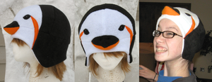 Penguin Hat by clearkid