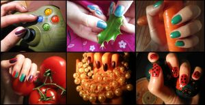 Nail collection by Santian69