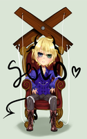Adoptable || Demon Puppet || Closed Auction by squichi