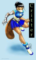 Critter The Awesome Platypus by rosethorn