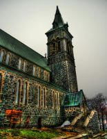 Medieval  Church HDR by laso2687