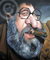 Sergio Leone by RussCook