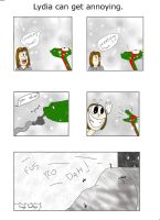 Lydia can get annoying. by Ludaritz