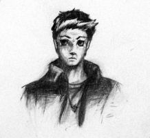 Young Dean Winchester-Sketch by jessicarae24