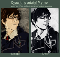 Meme  Before And After by Qukulka