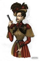 Victorian Vampyre by LaTaupinette