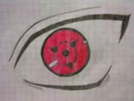 sharingan sasuke by xSooks (jonny) by xSooks