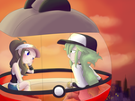 On the Ferris Wheel... by kagomeamichun