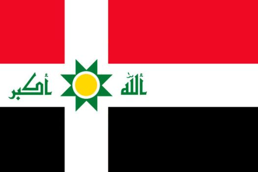 Iraq Alternate Nordic flag by resistance-pencil