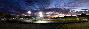 Drift Track Panorama by small-sk8er