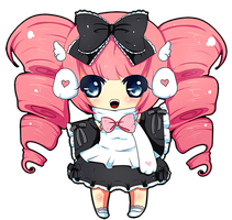 GaiaOnline Commissio 30 by le-pink-piglet