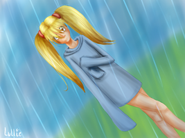 Looking for you in the rain by Akeudi