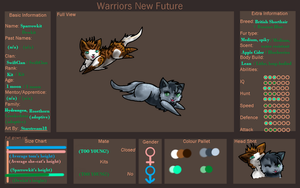 Sparrowkit and Dewkit of SwiftClan - ref by Starstream18