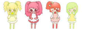 chibi adoptables - OPEN by amai--hime