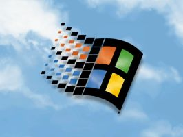Windows 98 Original Logo by DOS-Commander