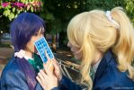 Tojo Nozomi and Ayase Eli - Love Live! // 10 by xAnotherSkin