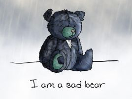 Sad Bear by lemonfox2002