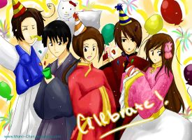 APH: Asia - Celebrate by Monii--Chan