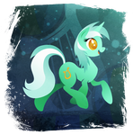 Lyra Heartstrings - Handsome Pony by Rariedash