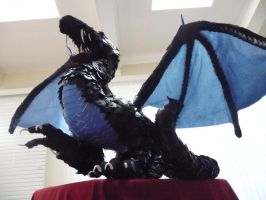 Origami Dragon Sculpture 1 by smsilverwolf
