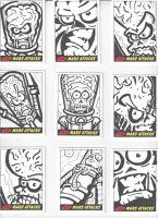 Mars Attacks! Sketch Cards #3 by mikehampton