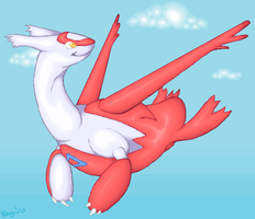 Latias. by KazultheDragon