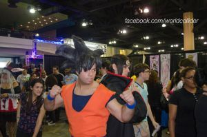 Goku + Itachi by worldcollider