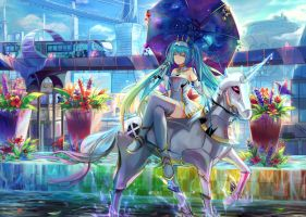 Racing Miku 2015 by natsumoka