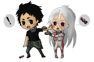 Deadman Wonderland: Ganta and Shiro by Aradia617