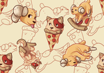 Pupperoni Pizza Pattern by sweet-guts