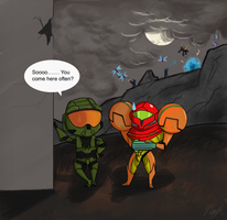 Sooo... Halo meets Metroid by NayeHappy