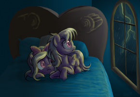 Sleepless Night by DawnMistPony