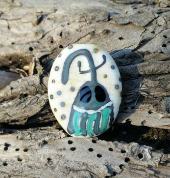 Mister Weevil Glass Bead by penguine145