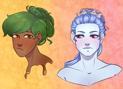 Ghost Kids Headshots by PastellPrince