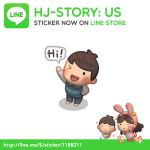 LINE Sticker of HJ-Story by hjstory