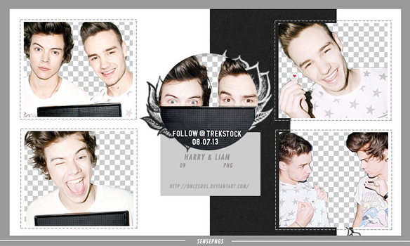 Pack Png 352 - Harry Styles and Liam Payne by SensePngs