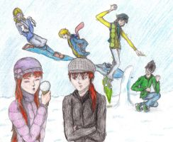 Contest Enty: Snow Day by LilyBlossom24