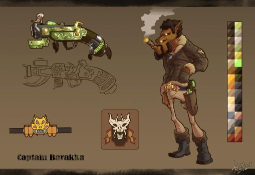 [Ironbolt] - Captain Barakka Sheet by DLSGorm