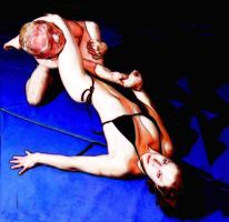 Mixed Wrestling Distortion by rorydnumber2