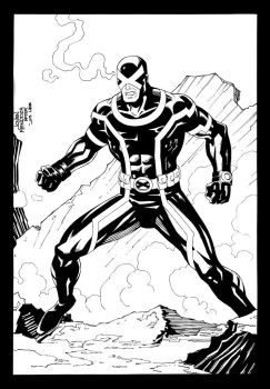 Cyclops Marvel Now by wardogs101