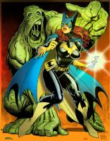 Art Adams Batgirl color by tmd by DONAHUE-t
