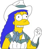 Marge Simpson - Country Girl by frasier-and-niles