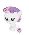 Baby Sweetie Belle by Bronyboy