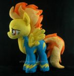 Spitfire Plushie by WhiteHeather