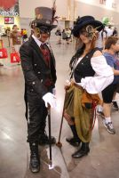 'Nother Steampunk Couple by miss-a-r-t