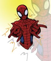 QuickDraw Spidey by Drakeybaby by keggo